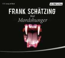 Frank Schätzing: Mordshunger, 5 CDs