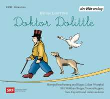 Hugh Lofting: Doktor Dolittle, 2 CDs