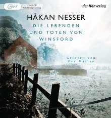 Håkan Nesser: Die Lebenden und Toten von Winsford, MP3-CD