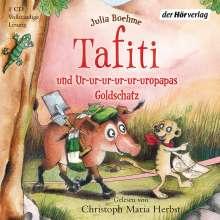 Julia Boehme: Tafiti und Ur-ur-ur-ur-ur-uropapas Goldschatz, CD
