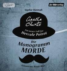Sophie Hannah: Die Monogramm-Morde, MP3-CD