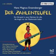 Hans Magnus Enzensberger: Der Zahlenteufel, 2 CDs