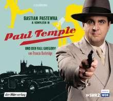 Francis Durbridge: Bastian Pastewka und Komplizen in Paul Temple und der Fall Gregory, 2 CDs
