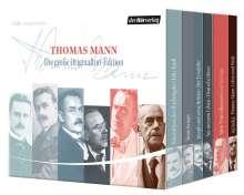 Thomas Mann: Die große Originalton-Edition, 17 CDs