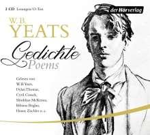 William Butler Yeats: Gedichte/Poems, 2 CDs
