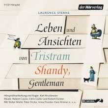 Laurence Sterne: Leben und Ansichten von Tristram Shandy, Gentleman, 9 CDs