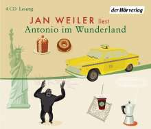 Jan Weiler: Antonio im Wunderland, 4 CDs
