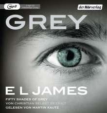 E L James: Grey - Fifty Shades of Grey von Christian selbst erzählt, MP3-CD