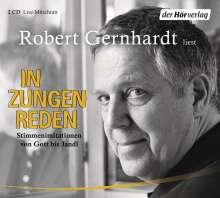 Robert Gernhardt: In Zungen reden, 2 CDs