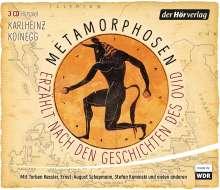 Karlheinz Koinegg: Metamorphosen - Erzählt nach den Geschichten des Ovid, 4 CDs