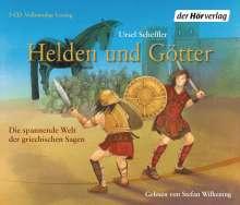 Ursel Scheffler: Helden und Götter, 3 CDs