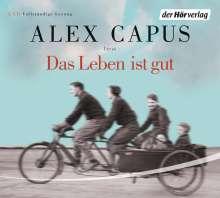 Alex Capus: Das Leben ist gut, 5 CDs