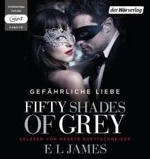 E L James: Fifty Shades of Grey. Gefährliche Liebe, 2 MP3-CDs
