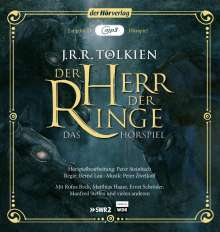 John Ronald Reuel Tolkien: Der Herr der Ringe, 2 MP3-CDs