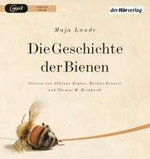 Maja Lunde: Die Geschichte der Bienen, MP3-CD