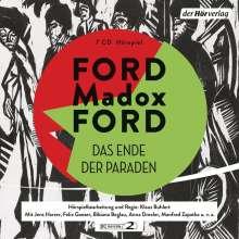 Ford Madox Ford: Das Ende der Paraden, 7 CDs