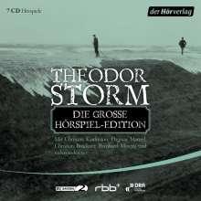 Theodor Storm: Die große Hörspiel-Edition, 7 CDs