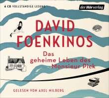 David Foenkinos: Das geheime Leben des Monsieur Pick, 6 CDs