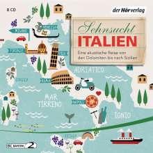Andreas Pehl: Sehnsucht Italien, 8 CDs
