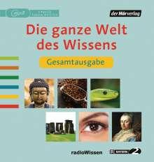 Reinhard Schlüter: Die ganze Welt des Wissens Gesamtausgabe, MP3-CD