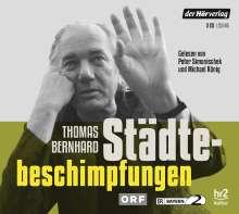Thomas Bernhard: Städtebeschimpfungen, 3 CDs