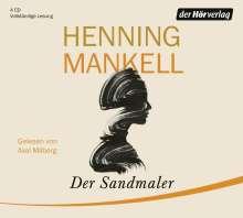 Henning Mankell (1948-2015): Der Sandmaler, 4 CDs