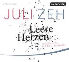 Juli Zeh: Leere Herzen, 6 CDs