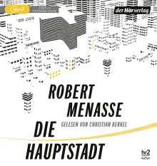 Robert Menasse: Die Hauptstadt, 2 MP3-CDs