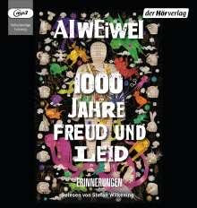 Ai Weiwei: 1000 Jahre Freud und Leid, 2 MP3-CDs