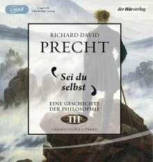 Richard David Precht: Sei du selbst, MP3-CD