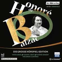 Honoré de Balzac: Die große Hörspiel-Edition, 12 CDs