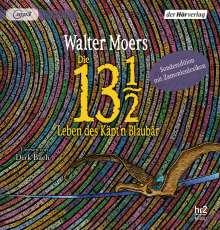 Walter Moers: Die 13 1/2 Leben des Käpt'n Blaubär, 3 MP3-CDs