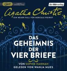 Sophie Hannah: Das Geheimnis der vier Briefe, MP3-CD