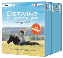 Ostwind - Die große Box, 5 MP3-CDs