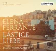 Elena Ferrante: Lästige Liebe, 4 CDs