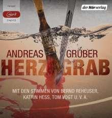 Andreas Gruber: Herzgrab, 2 MP3-CDs