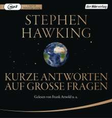 Stephen Hawking: Kurze Antworten auf große Fragen, MP3-CD