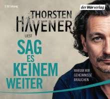 Thorsten Havener: Sag es keinem weiter, 3 CDs