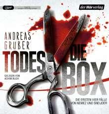 Andreas Gruber: Die Todes-Box - Die ersten vier Fälle von Nemez & Sneijder, 5 MP3-CDs