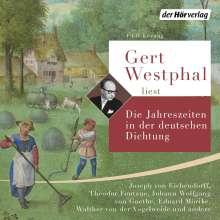Hans Christian Andersen: Gert Westphal liest: Die Jahreszeiten in der deutschen Dichtung, 4 CDs