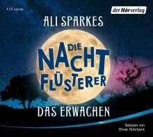Ali Sparkes: Die Nachtflüsterer - Das Erwachen, 4 CDs