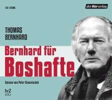 Thomas Bernhard: Bernhard für Boshafte, CD