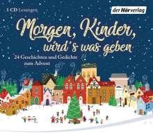 Herman Bang: Morgen, Kinder, wird's was geben, CD