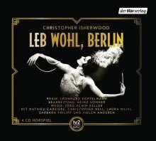 Christopher Isherwood: Leb wohl, Berlin, 4 CDs