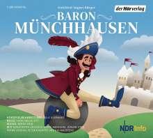 Gottfried August Bürger: Baron Münchhausen, CD