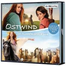 Ostwind - Die Filmhörspiele 3 + 4, 4 CDs