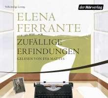 Elena Ferrante: Zufällige Erfindungen, 3 CDs