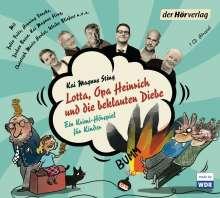 Kai Magnus Sting: Lotta, Opa Heinrich und die beklauten Diebe, CD