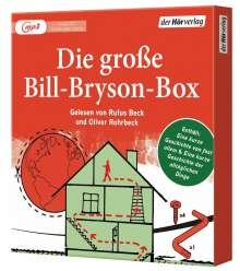 Bill Bryson: Die große Bill-Bryson-Box, 4 MP3-CDs
