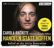 Carola Rackete: Handeln statt Hoffen, 4 CDs